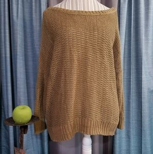 🌻🌺🌻OLD NAVY CAMEL COLOR KNIT SWEATER!!